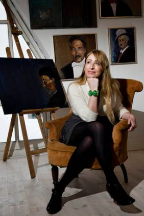 'Woman in the Chair' Interview with JydskeVestkysten Danish Newspaper