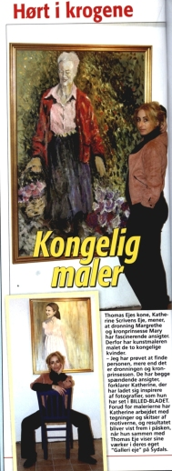 Featured in Billed Bladet Royal magazine article Denmark