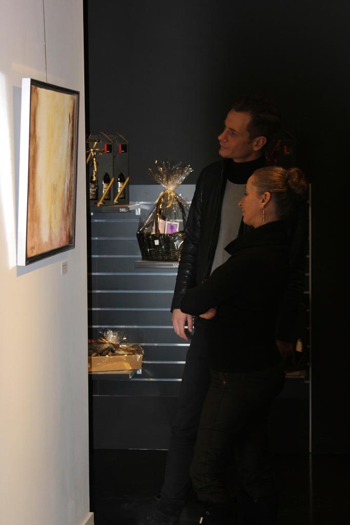 With Danish Fashion Designer David Andersen