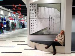 'Silhouettes in the rain' City Center Borgen Sønderborg, Denmark 2013