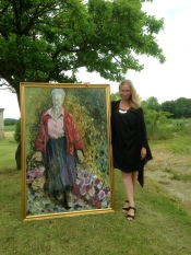 Portrait of Queen Margrethe of Denmark
