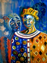 Mother and son (sold)