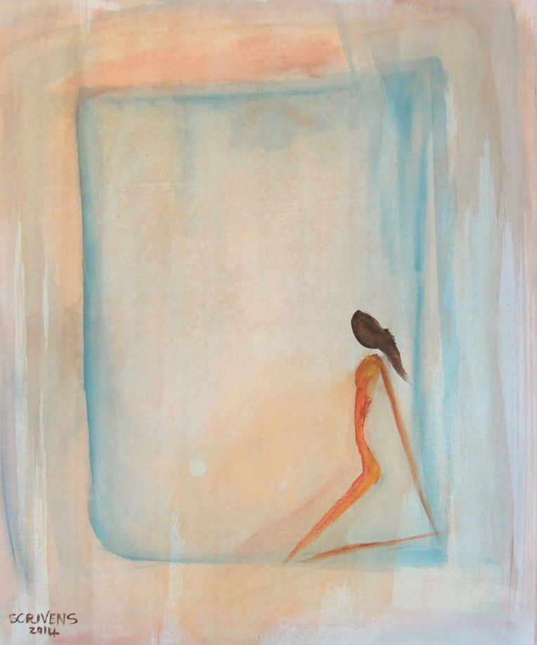 Silhouette in the Blue - Katherine Scrivens Eje