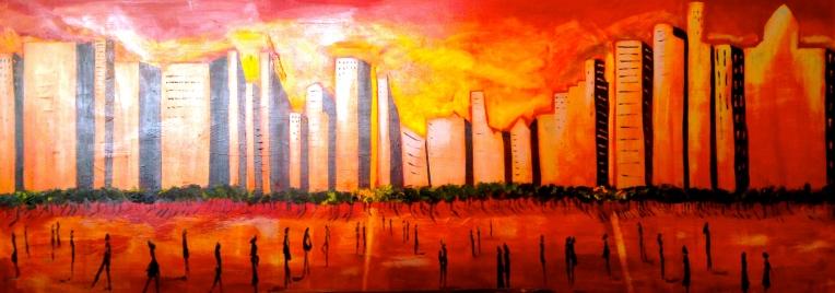 Cityscape - Katherine Scrivens