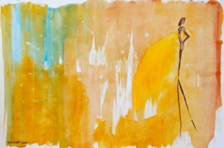 Yellow sky - Katherine Scrivens Eje