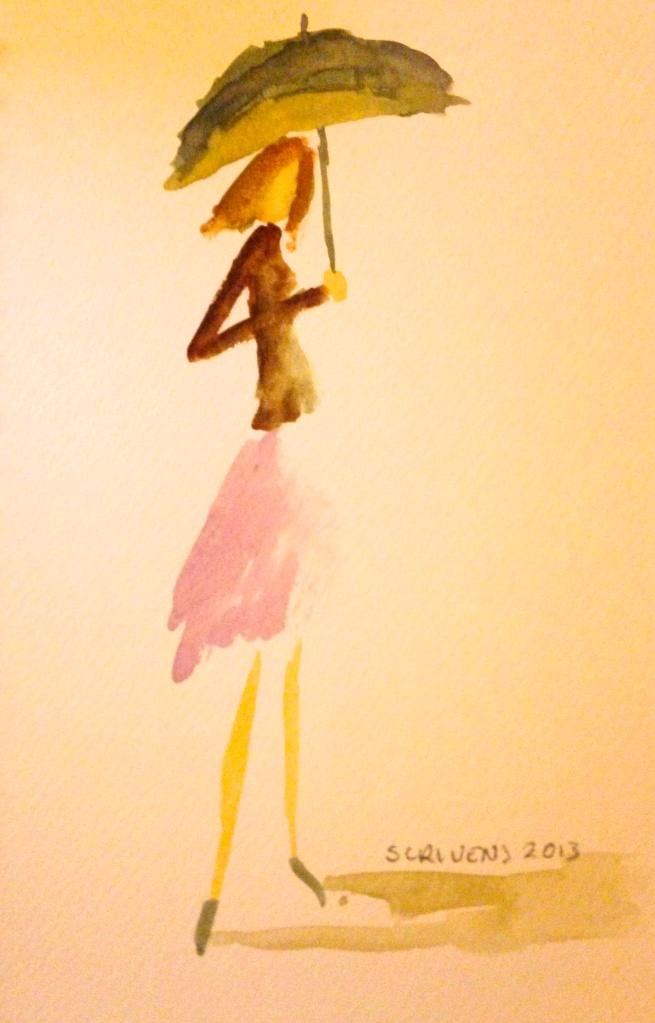 Little watercolor sketch