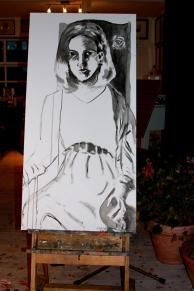 'Maria' oil on canvas
