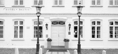Hotel Baltic serve their coffee in Silhouette Design Denmark Mugs
