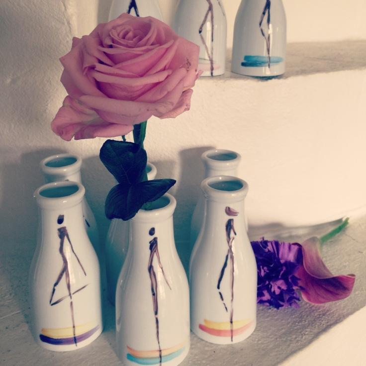 Silhouette Design Denmark Vases/ cream bottles