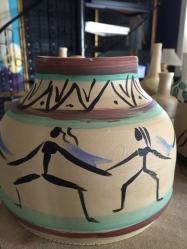 Ceramic with figures