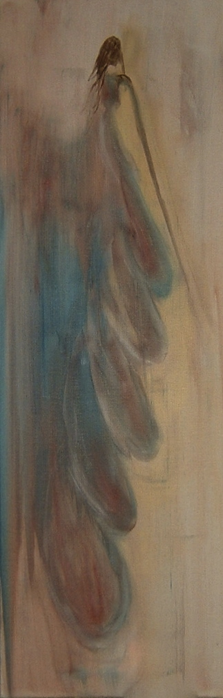 The Dress - oil on canvas