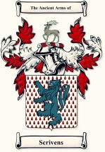 The Scrivens family Crest