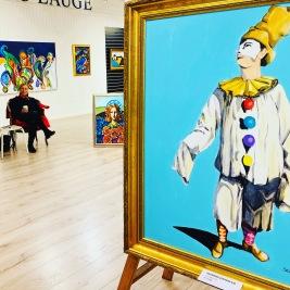 White Clown 80x100 cm (15.000 kr)